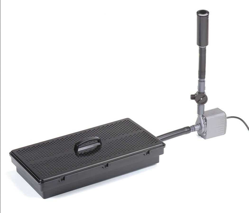 Pondmaster pmk2950 pump filter kit for Pond filter pump combo